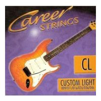 Thumbnail of Career Strings Electric Custom light Nickel Plated Steel Roundwound
