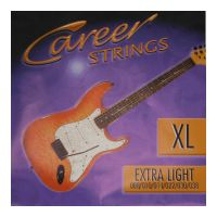 Thumbnail of Career Strings Electric Extra light Nickel Plated Steel Roundwound