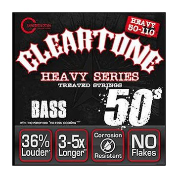 cleartone 6550 monster heavy 50 110 bass electric 4 string. Black Bedroom Furniture Sets. Home Design Ideas