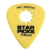 Thumbnail of Cleartone Star Pick Yellow 0.73mm