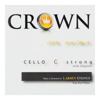 Thumbnail of Crown by Larsen Crown Cello set Forte 4/4 string, High tension