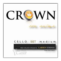 Thumbnail of Crown by Larsen Crown Cello set medium 4/4 string, medium tension