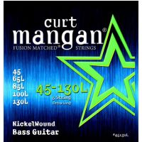 Thumbnail van Curt Mangan 45130L Extra Long scale  45-130 5 string Nickel Wound