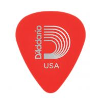 Thumbnail of D'Addario 1DRD1 STANDARD-PICK-DURALIN-RED-SUP-LIGHT