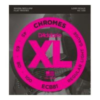 Thumbnail of D'Addario ECB81 Chromes Flat Wound