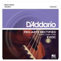 Thumbnail of D'Addario EJ53C  Hawaiian Ukulele Black Nylon