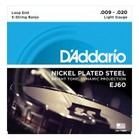 Thumbnail of D'Addario EJ60 Banjo Nickel Wound Light