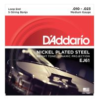Thumbnail of D'Addario EJ61 Banjo Nickel Wound Medium