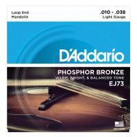 Thumbnail of D'Addario EJ73 Mandolin Strings, Phosphor Bronze, Light, 10-38