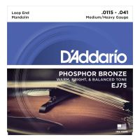 Thumbnail of D'Addario EJ75 Mandolin Strings, Phosphor Bronze, Medium/Heavy, 11.5-41