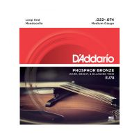 Thumbnail of D'Addario EJ78 Phosphor Bronze Mandocello Strings, 22-74