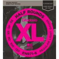 Thumbnail of D'Addario ENR71-6 Regular light Half round Pure Nickel