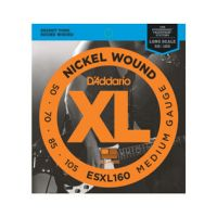 Thumbnail of D'Addario ESXL160 Nickel Wound Bass, Medium, 50-105, Double Ball End, Long Scale