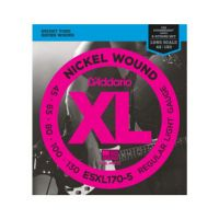 Thumbnail of D'Addario ESXL170-5 Nickel Wound 5-String Bass, Light, 45-130, Double Ball End, Long Scale