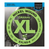 Thumbnail of D'Addario EXL165-6 Long scale XL nickelplated steel