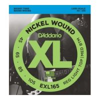 Thumbnail of D'Addario EXL165 Long scale XL nickelplated steel