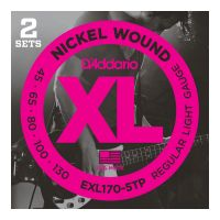 Thumbnail of D'Addario EXL170-5TP  2pack! XL nickelplated steel