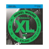 Thumbnail of D'Addario EXL220TP XL nickelplated steel Super Light, 40-95, Long Scale Twin pack