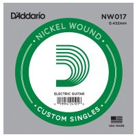 Thumbnail of D'Addario NW017 Nickel Wound Electric