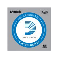 Thumbnail of D'Addario PL022 Plain steel Electric or Acoustic