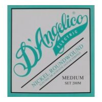Thumbnail of D'Angelico 200M Medium Nickel Roundwound