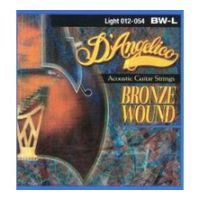 Thumbnail of D'Angelico BW-L Light 012-54 Bronze wound 80/20
