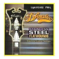 Thumbnail of D'Angelico FW/L Light Stainless steel flatwound