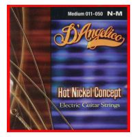 Thumbnail of D'Angelico N-M Hot Nickel Concept Medium 011/050""