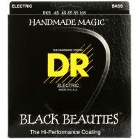 Thumbnail of DR Strings BKB-45 Black Beauties Black coated