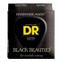 Thumbnail of DR Strings BKE7 Black Beauties Medium Black coated