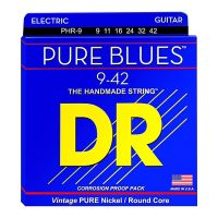 Thumbnail of DR Strings PHR-9 Pure blues Light Round core pure nickel