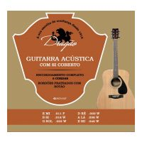 Thumbnail of Dragão D021 Guitarra Acustica  11-46 Silverplated ball-end wound B and G