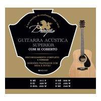 Thumbnail of Dragão D024 Guitarra Acustica  Superior 11-46 Silverplated ball-end wound B and G