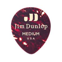 Thumbnail of Dunlop 485P05MD Genuine Celluloid Teardrop Shell Medium 0.88mm