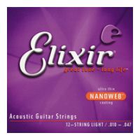 Thumbnail of Elixir 11152 Nanoweb 12-String Light