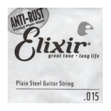 Preview of Elixir 13015 .015 Plain steel - Electric or Acoustic