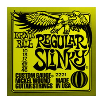 Ernie Ball 2221 Regular Slinky Nickel Plated Steel Guitar