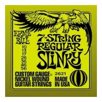 Thumbnail of Ernie Ball 2621 Regular Slinky 7-string Nickel plated steel