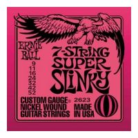Thumbnail of Ernie Ball 2623 Super Slinky 7-string Nickel plated steel