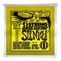 Thumbnail of Ernie Ball 2837 Slinky 6-String w/ small ball end 29 5/8 scale Bass ( baritone)