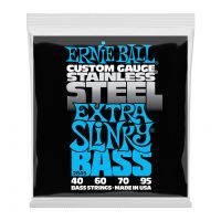 Thumbnail of Ernie Ball 2845 Extra Slinky Stainless Steel Electric Bass Strings - 40-95 Gauge