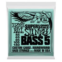 Thumbnail of Ernie Ball 2850 5 String Slinky Super Long Scale Electric Bass Strings - 45-130 Gauge