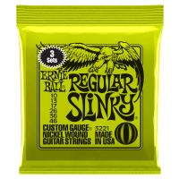 Thumbnail van Ernie Ball 3221 Regular Slinky  Nickel plated steel 3-Pack