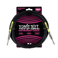 Thumbnail van Ernie Ball 6048 10' Straight / Straight Instrument Cable - Black