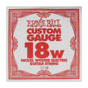 Preview van Ernie Ball eb-1118 Single Nickel wound
