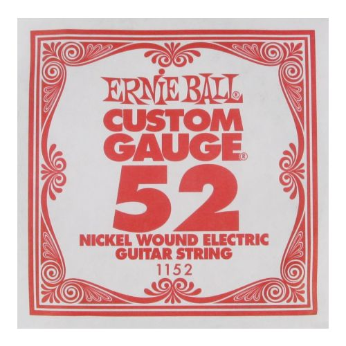 Ernie Ball Eb 1152 Single Nickel Wound Guitar Single Strings