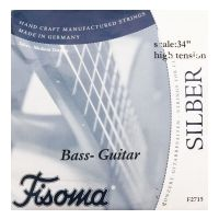 "Thumbnail of Fisoma F2715 Classical 4 string Bass Guitar  34"" Tension Ball end High tension in ADGC tuning"