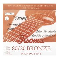 Thumbnail of Fisoma F3021C Consort 80/20 single pair of E strings for mandoline.