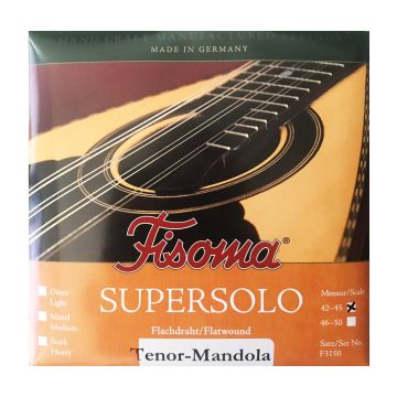 Preview of Fisoma F3150-42/45 TENOR Mandola supersolo Medium Flatwound Stainless CGDA