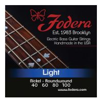 Thumbnail of Fodera N40100 XL Light Nickel, Extra Long scale